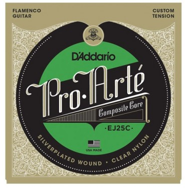 D' Addario - EJ25, las mejores cuerdas de guitarra flamenca