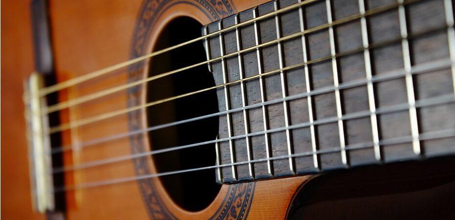 Aprender guitarra flamenca, nombre de las cuerdas de la guitarra